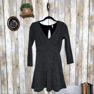 Free People Heartstopper Tweed Keyhole Dress